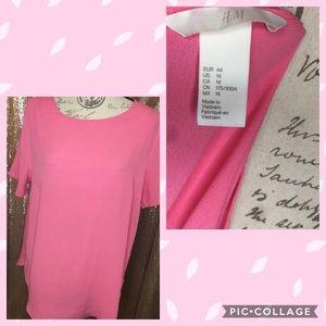 H&M Women's Pink Blouse